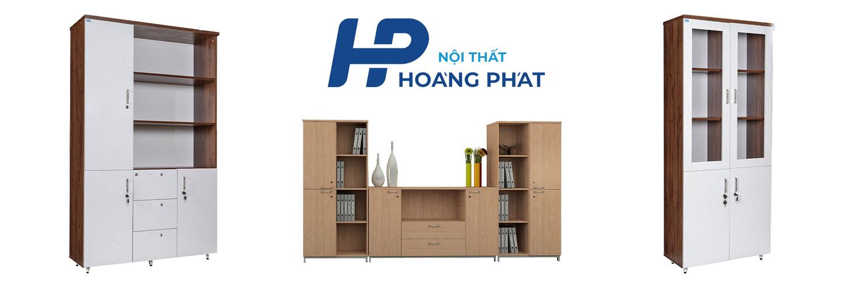 Tủ hồ sơ gỗ Hoàng Phát dành cho văn phòng