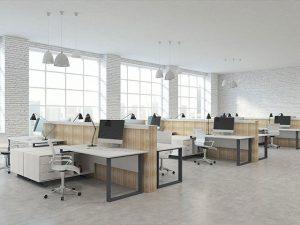 thiết kế văn phòng công ty hiện đại